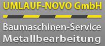 Logo Umlauf Novo Baumschinenservice